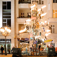 "Odo Rumpf, ""Crazy Christmas Tree"", Berlin, Germany"