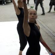 "Paula Pabel, ""onLine"", CityLeaks 2013, Interacting Day, Marienstrasse, Photo: Sandra Sturm"