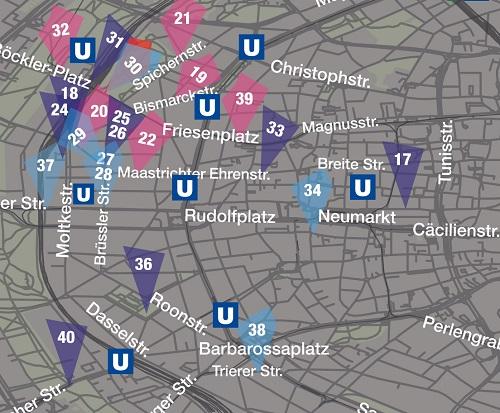 Innenstadtmap